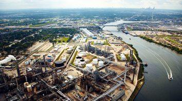 North Sea Gas Terminal Non-intrusive Inspection Plan